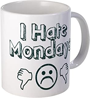 CafePress I Hate Mondays Mug Unique Coffee Mug, Coffee Cup