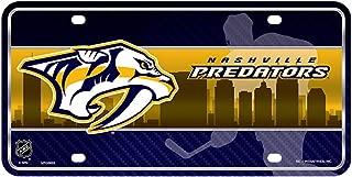 Nashville Predators Metal License Plate - Skyline