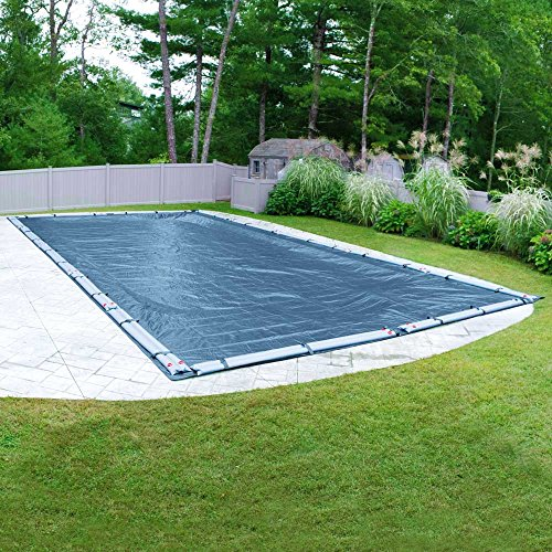 Pool Mate 351632RPM Heavy-Duty Blue Winter Pool Cover for In-Ground Swimming Pools, 16 x 32-ft. In-Ground Pool
