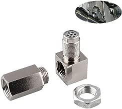 ChaRLes M18X1.5 Rond Capteur /Écrou Filetage Acier Inoxydable Tuyau D/Échappement Base Oxyde Oxyg/ène Capteur /Écrou