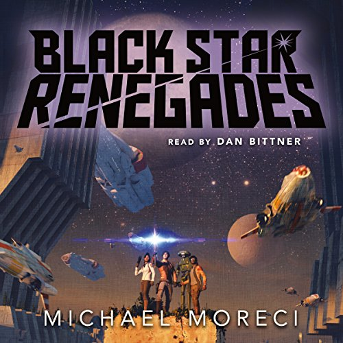 Black Star Renegades audiobook cover art