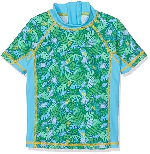 DIMO-TEX Sun Schwimmshirt Mädchen UV 50+ Costume da Bagno, Multicolore (Alloverprint 997), 3 Anni Bambina