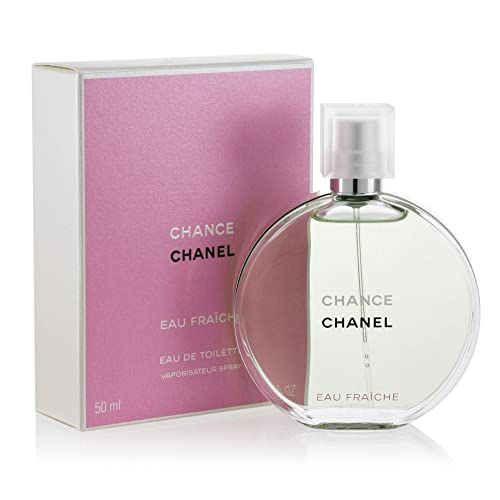 4a6662f78e4 Chânel Chance Eau Fraiche Eau De Toilette Spray For Women 1.7 oz  50 ml