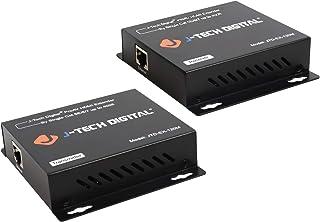 J-Tech Digital ProAV HDMI Extender Over Single Cat5e/6 Cable TCP/IP 1080p IR Remote - Up to 400' [JTD-EX-120M]