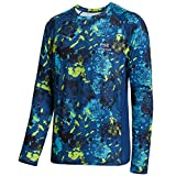 Bassdash FS12M UPF 50+ Men's Camo Long Sleeve Vented Fishing Shirt Quick Dry