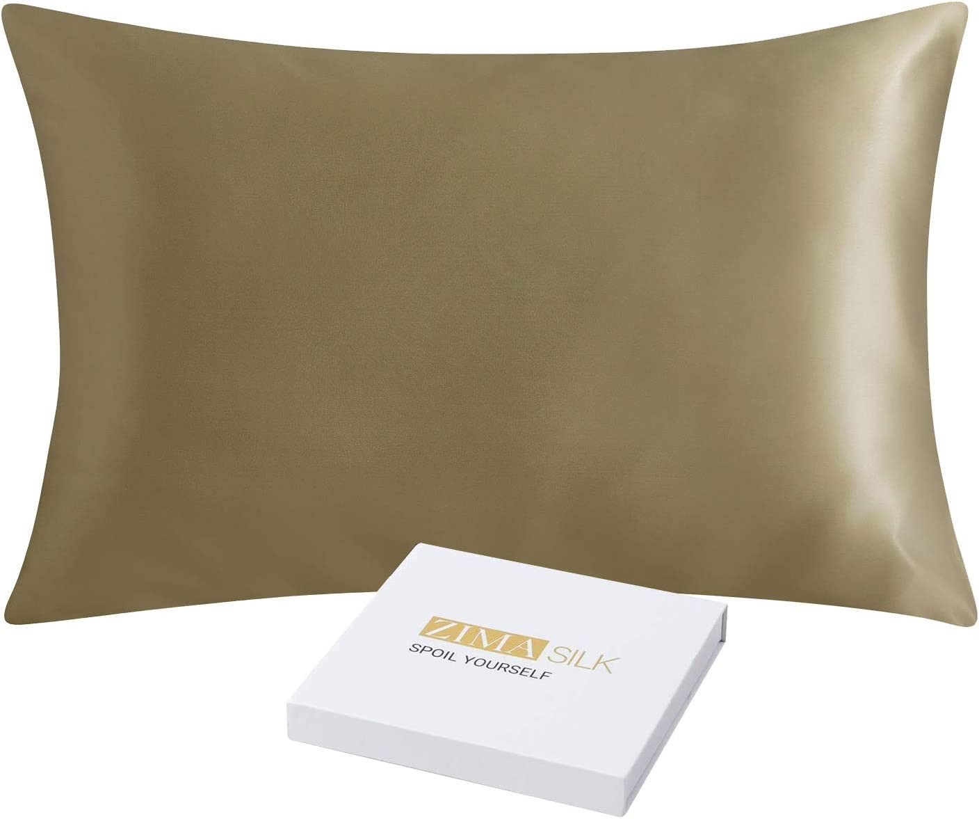 ZIMASILK 25 Momme 100% Mulberry Silk Pillowcase Super sale Dedication period limited Hair and Ski for