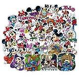LZWNB Disney Mickey Minnie Donald Duck Imagen Pegatina Ordenador...