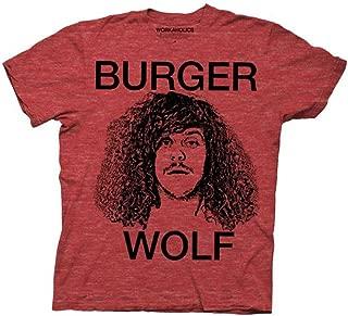 Workaholics Burger Wolf Blake Heather Red Mens T-Shirt