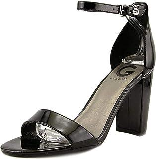 Guess FLGIL1 LEA03 Sandales Compensées Femmes Brun 38