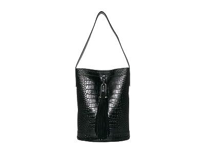 Vince Camuto Tal Hobo (Nero) Handbags