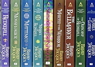 Redwall Series, Vols. 1 -17: Redwall; Mossflower; Mattimeo; Mariel of Redwall; Salamandastron; Martin the Warrior; The Bel...