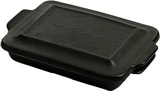 セラミック藍 Hygge style グリルパン 大 ブラック サイズ:約W26.4 D17.3 H6 08080