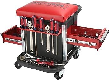 2-Pack Craftsman 70575 Garage Glider Rolling Tool Chest Seat