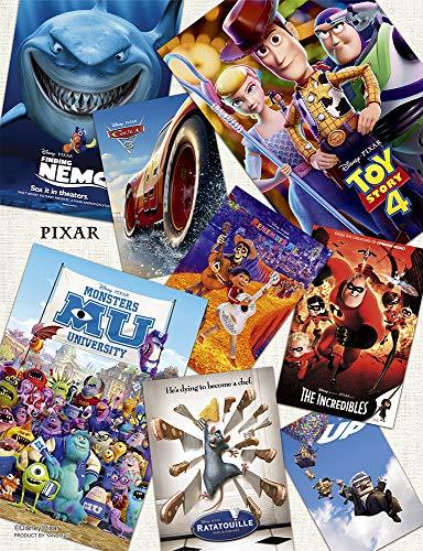 やのまん ジグソーパズル ディズニー ピクサー/ポスターコレクション 【プチ2ライト】 300ピース (16.5x21.5cm)