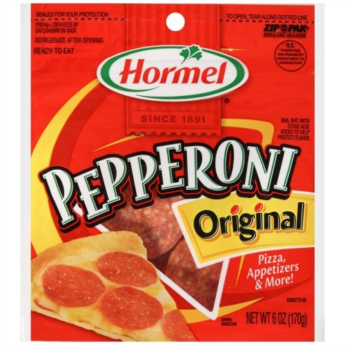 Hormel ORIGINAL PEPPERONI Slices 6oz (2 Pack)
