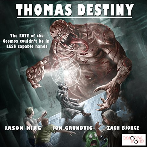 Thomas Destiny audiobook cover art