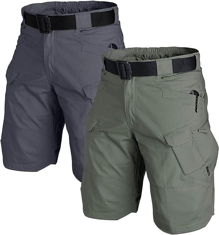 AUTIWITUA Men's Waterproof Tactical Ranking TOP14 Cargo Outdoor gift Shorts