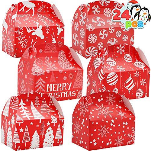 24 Pcs 3D Christmas Treat Gift