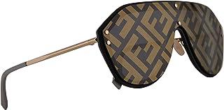 8f5130ac18 Fendi FFM0039 G S Sunglasses Black Gold w Gold Lens 99mm 2M27Y FF