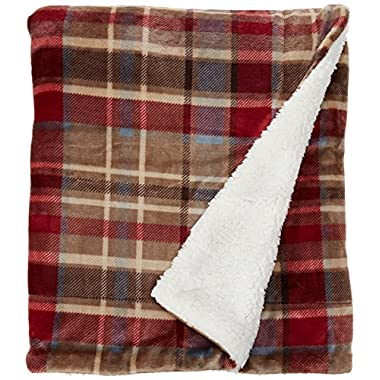 MERRYLIFE Decorative Sherpa Throw Blanket Ultra-Plush Comfort | Soft, Colorful | Home, Couch, Outdoor, Travel Use (60  70 , LOVE URBAN)