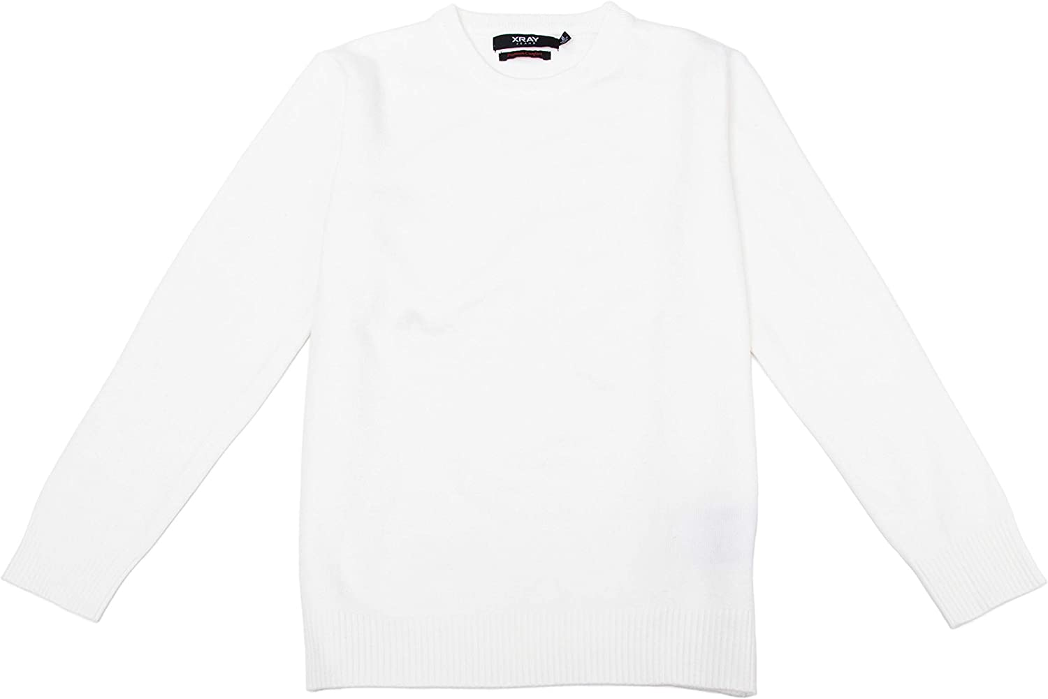 X RAY Boys Crewneck Sweater - Soft Slim Fit Middleweight Pullover Sweaters for Kids