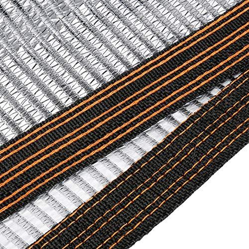 ZXXL Malla Sombra 55% Red de Tela de Sombra Reflectante de Aluminio, Red de Sombra Resistente a Los Rayos UV con Bordes Reforzados, para Jardín/Plantas/Invernadero/Hortalizas (Size : 2×6m)