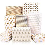 MAMUNU Gift Wrapping Paper Sheets, Multicolor...