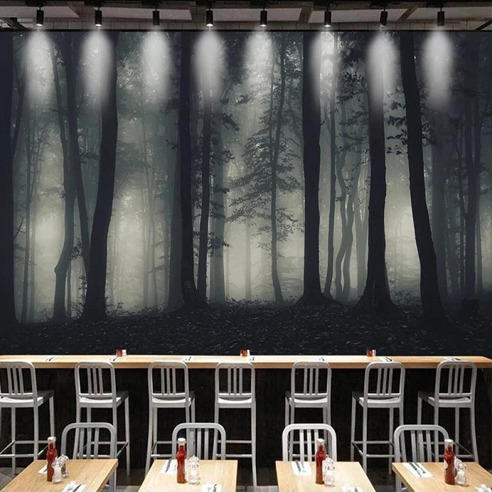 Custom 3D Low price Photo Self Adhesive Wallpaper Lowest price challenge Forest Art Tree Abstract