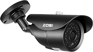 ZOSI 1080P HD 1920TVL Hybrid 4-in-1 TVI/CVI/AHD/960H CVBS CCTV Surveillance Weatherproof Bullet Security Camera 42PCS Infrared LEDs, 120ft IR Distance, For HD-TVI, AHD, CVI, and CVBS/960H analog DVR