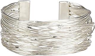 Ten Thousand Villages Authentic Fair Trade Bracelet `Flight of Silver Bracelet`