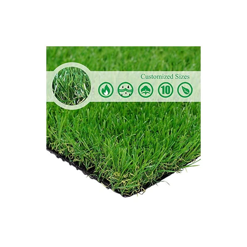 silk flower arrangements · petgrow · realistic artificial grass rug customized 7ftx36ft(252square ft) outdoor garden lawn landscape synthetic turf mat - thick fake grass rug