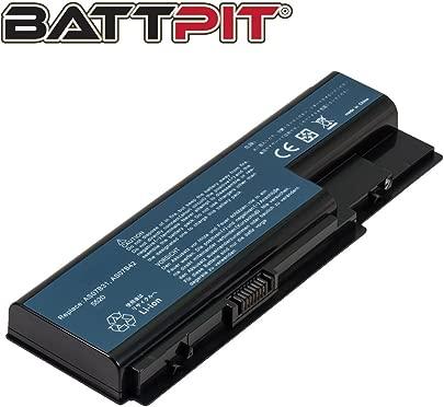 BattPit  Laptop Akku f r Acer AS07B41 AS07B31 AS07B61 AS07B71 Aspire 5739G 5920G 5935G 6930 5720 7730 7736G 7736ZG Laptopakku Ersatzakku Batterie  6 Zellen 4400mAh 49Wh