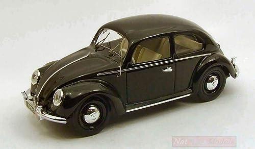 alta calidad Rio RI4345 VW Beetle 1953 negro negro negro 1 43 MODELLINO Die Cast Model Compatible con  primera vez respuesta