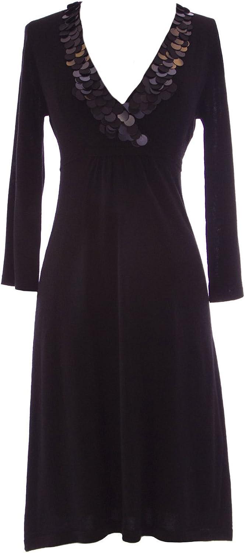 BODEN Women's Paillette Detail Credver Dress
