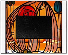 CafePress-Charles Rennie Mackintosh Stained Glass Picture Fr-Picture Frame