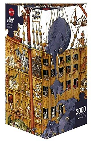 HEYE 25475 Loup Arche Noah Puzzle 2000 Teile