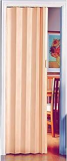 comprar comparacion Puerta plegable de alta calidad con efecto de madera de pino natural
