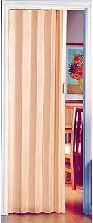 Puerta plegable de alta calidad con efecto de madera de pino