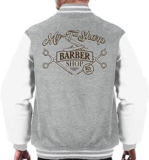 Cloud City 7 My T Sharp Barber Shop Queens Coming To America Men's Varsity Jacket