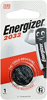 Energizer ECR 2032BP1 Energizer MAX- SP COIN Lithium Batteries - 3V ECR 2032BP1 [Pack Of 1] - (Pack of1)