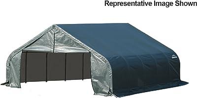 Amazon Com Shelterlogic Garage 16 X 40 X 16 Peak