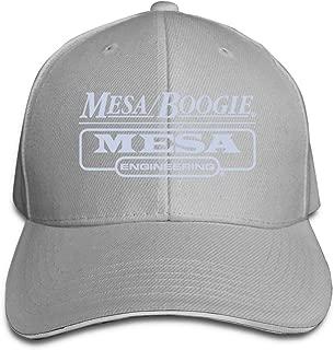 YUSOO Adult Unisex Sports Mesa Boogie Logo Adjustable Sandwich Baseball Cap Hat for Men's&Women's