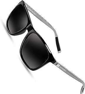comprar comparacion Sunmeet Gafas de sol Hombre Polarizadas Clásico Retro Gafas de sol para Hombre UV400 Protection S1001
