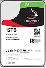 Seagate IronWolf Pro 12TB NAS Internal Hard Drive HDD – 3.5 Inch SATA 6Gb/s 7200 RPM 256MB Cache for RAID Network Attached Storage, Data Recovery Rescue Service (ST12000NE0007)