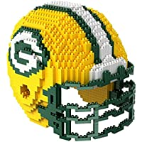 1328-Piece Foco NFL 3D Football Helmet (Green Bay Packers)