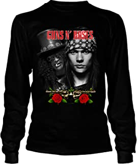COLOSTORE Axl Rose Leader Guns N' Roses T Shirt, Guns N' Roses Members T Shirt - Long Sleeve Tees