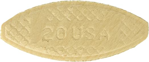 "PORTER-CABLE 5553 Plate Joining Biscuits ""20"" , 250 biscuits/ pack, Pack of 4.."