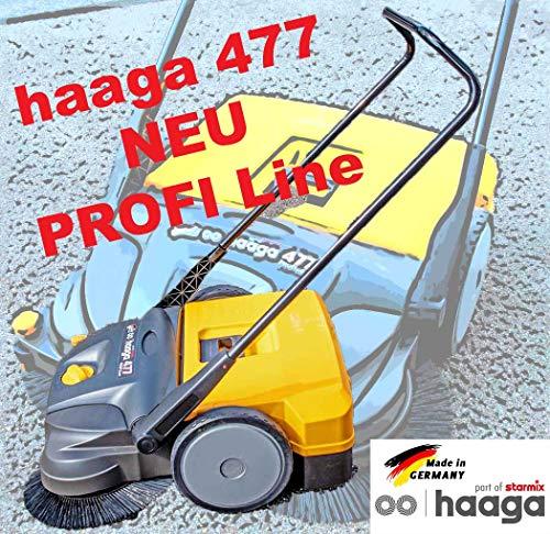 haaga Kehrmaschine Haaga 477 gelb/grau