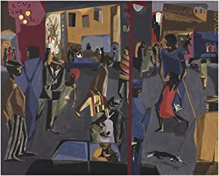 McGaw Graphics Fulton and Nostrand, 1958 by Jacob Lawrence Painting Print