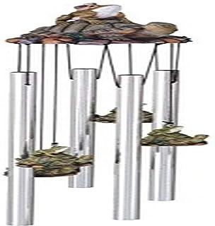 StealStreet SS-G-41954, Round Top Frog Turtle Hanging Garden Porch Decoration Decor Wind Chime